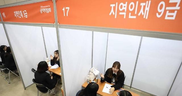 韩11月就业人口同比增16.5万人