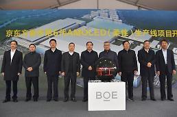 .京东方第3条OLED生产线开工 业界忧虑韩国被赶超.