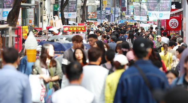 访韩中国游客仍未恢复至萨德前水平 日本游客填补空白