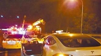테슬라 안전성 도마위...대만서 자율주행 중 첫 사고