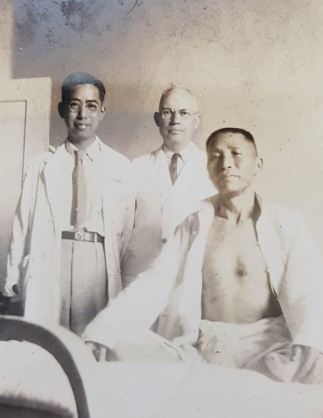 金九先生枪伤照片首次公开 拍摄于中国长沙