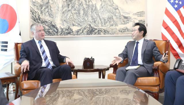 韩美工作组第2次会议本周举行 商讨韩朝合作项目豁免议题