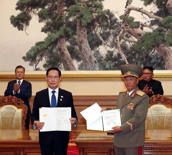 韩国推进修改9·19《韩朝军事协议》部分用词
