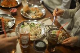.韩国每万人拥有125.4家餐厅 约为美国六倍.