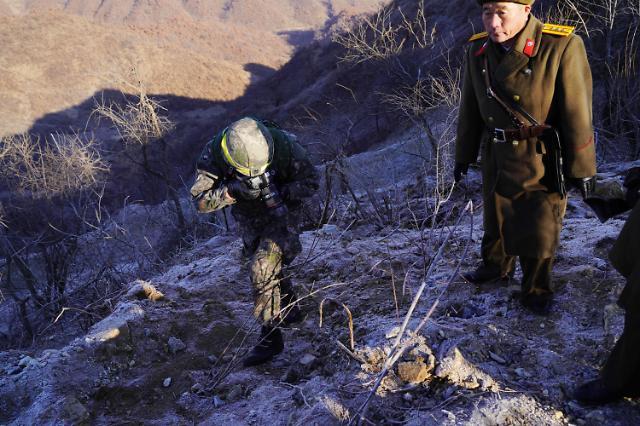 韩军:朝方边防哨所被彻底拆除