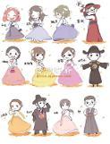 .[首尔正在创作中] 漫画家 夏Dora的韩服形象.