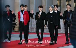 .Popularity of boy band BTS boosts tourism and cosmetics sales.