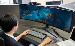 .三星游戏显示器全球市场占有率接近10% 排名第四.