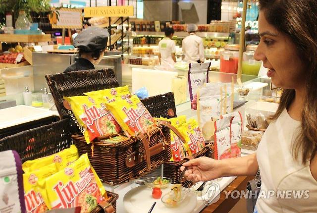 韩流除了明星还有食品 今年韩国方便面出口将破4亿美元
