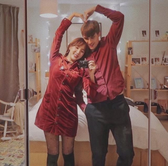 아내의 맛 국가비♥조쉬, 크리스마스 기념 시밀러룩 완성