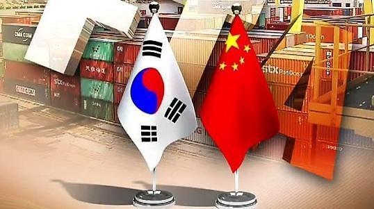韩中贸易额今年1-11月同比增13.7%