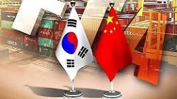 .韩中贸易额今年1-11月同比增13.7%.