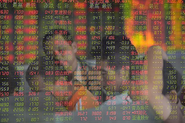 [중국증시 마감] 미국 금리인상에 유동성 공급, 금융안정회의로 시장 달래기