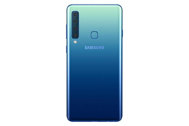三星后置四摄手机Galaxy A9明在韩上市