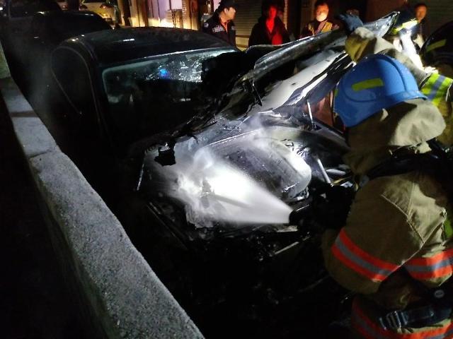인천서 또 BMW 차량화재 발생