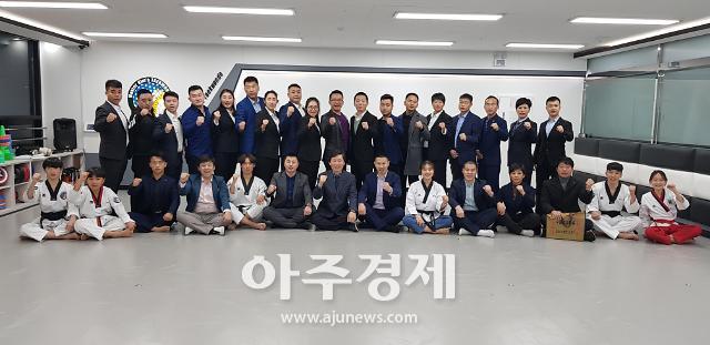 김유하 선수 중국 위해시 태권도협회 홍보대사로 임명