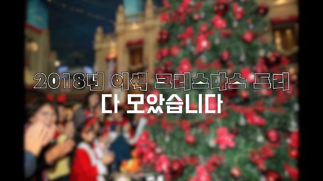 [광화문비디오방] 크리스마스 이브에 모인 세계의 이색 트리들