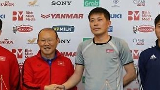 Giao hữu bóng đá giữa Đội tuyển Việt Nam và CHDCND Triều Tiên