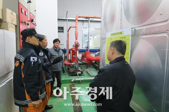 광명소방 롯데광명물류센터 현장안전컨설팅