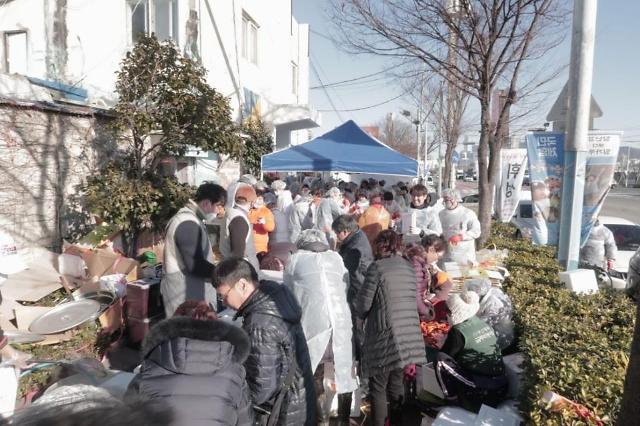 한국장애인사회복지회, 희망나눔운동 김장김치 행사 펼쳐