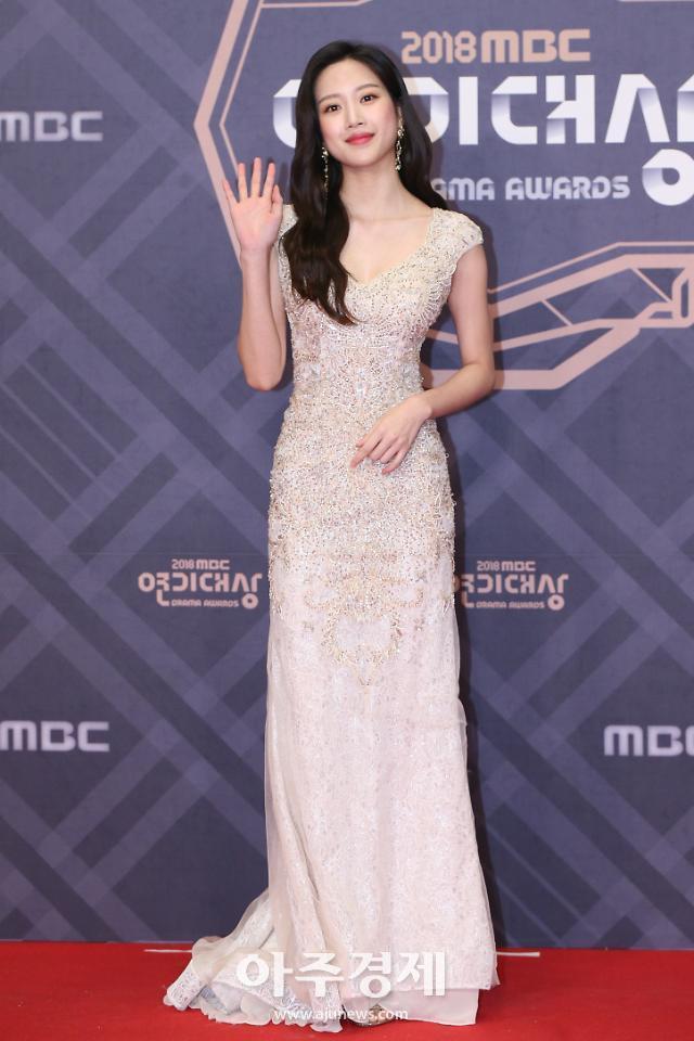 [포토] 문가영, 콜라병 몸매 (2018 MBC 연기대상)