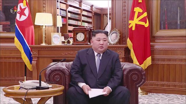 Kim Jong-un's new year message