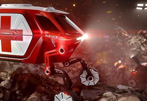 Elevate - Ý tưởng chiếc xe đi được qua mọi địa hình của Huyndai