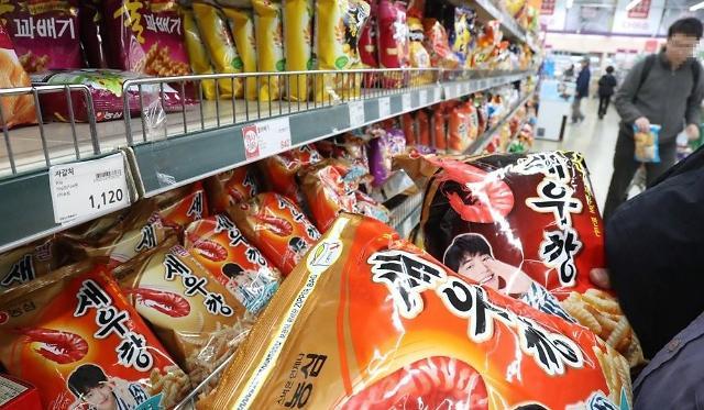 去年底韩过半超市生活必需品涨价