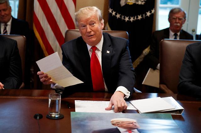 特朗普:期待再会金正恩,无核化谈判不会急于求成