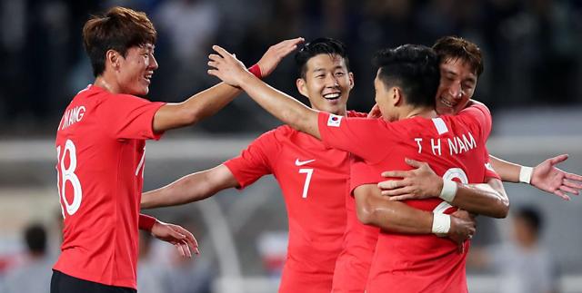 韩国男足将2019亚洲杯目标锁定冠军