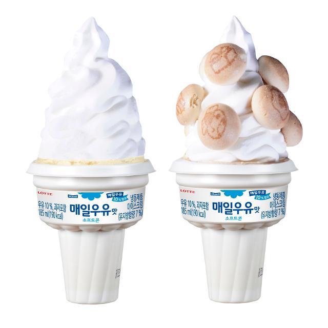 [박성준의 나혼자 산다] 세븐일레븐의 인싸템 매일우유맛소프트콘 대흥행