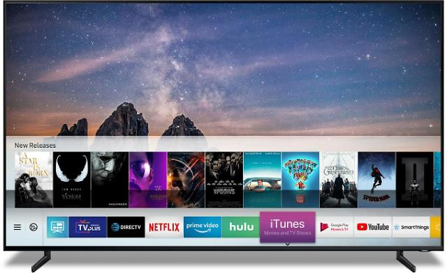 三星苹果强强联手 三星电视装载iTunes软件