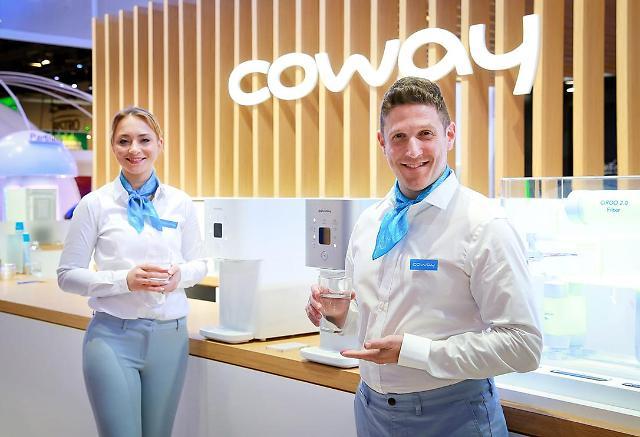 [CES 2019] 코웨이, 시루직수 정수기 등 일상 혁신적으로 관리하는 기술·제품 선보여