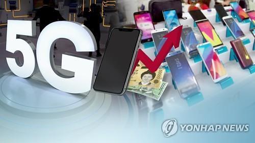 5G 띄우기 나섰지만...삼성·화웨이 등 5G폰 생산량 500만대 불과