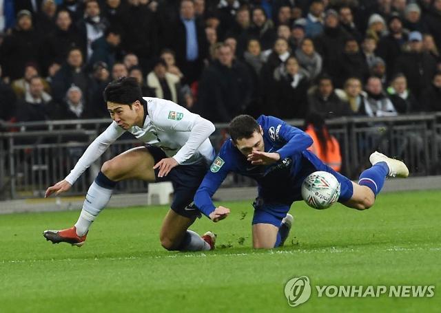 '최하 평점' 손흥민, 과부하 신호탄 경계…토트넘, 첼시에 1-0 승리