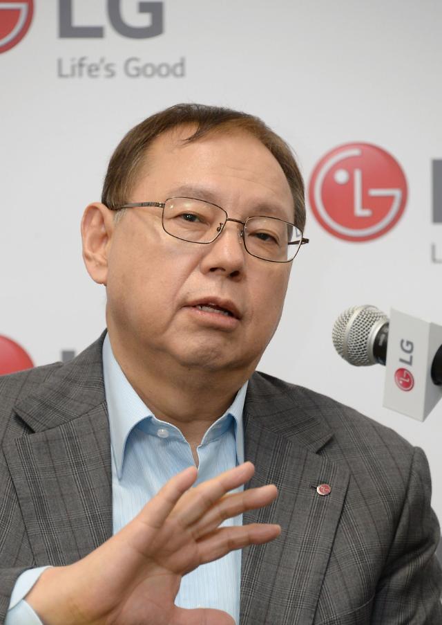 """[CES 2019] 조성진 LG전자 부회장 """"로봇사업 5대축 전개... 손익분기점 최소 2년"""""""
