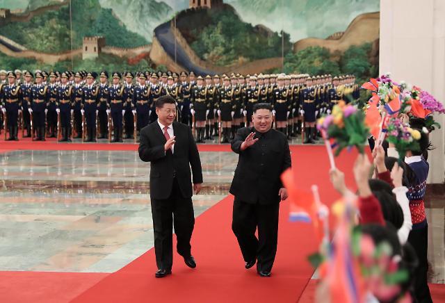 김정은, 시진핑 북한 초청 중국 관영언론 보도 안한 이유
