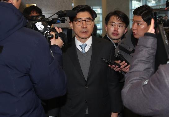 '채용비리' 이광구 전 우리은행장 징역 1년6개월…도망우려 '법정구속'