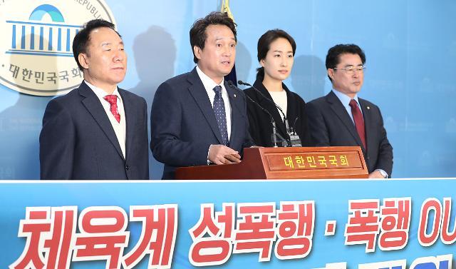 """안민석 """"심석희 사건, 조재범 개인 일탈 치부 안돼""""…전명규 교수 배후 지목"""