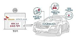 .SK Telecom joins hands with Sinclair and Harman to develop connected vehicle platform.