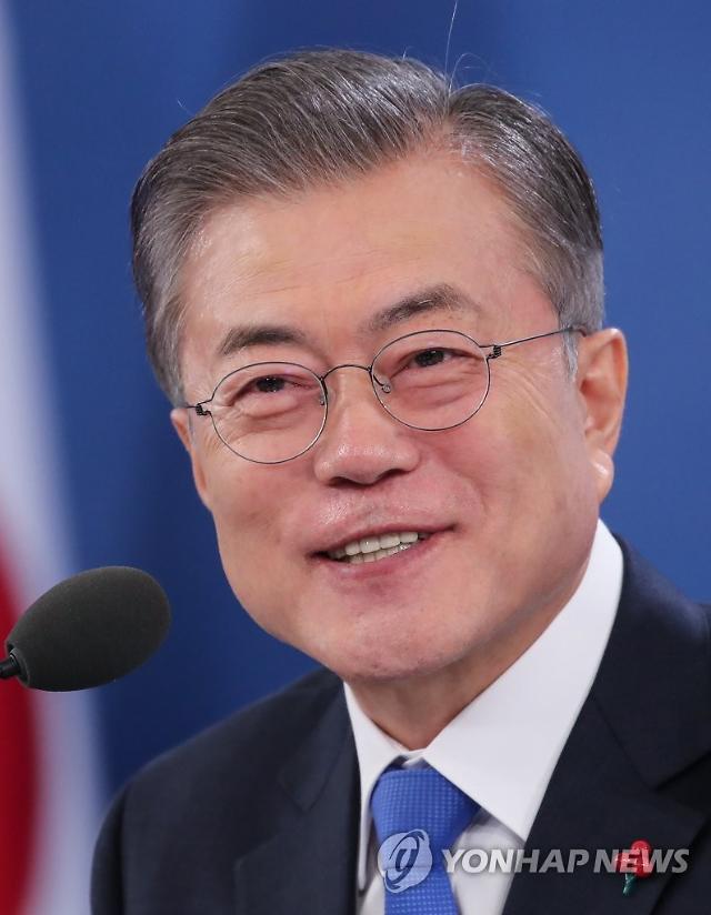 """문재인 대통령, 신년 기자회견 """"문화가 미래 산업으로 이어지도록 하겠다"""""""