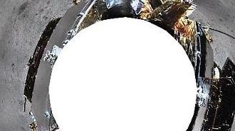 [중국포토] 창어4호가 촬영한 달 뒷면의 360도 파노라마 사진