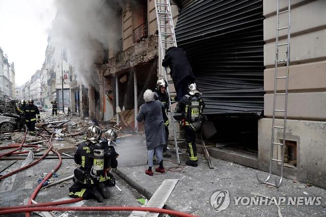 """파리 중심가 빵집 가스 유출 추정 폭발…""""최소 20여명 부상"""""""