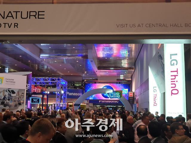 [CES 2019] 대세 입증 '5G'...어디에나 있는 '인공지능'