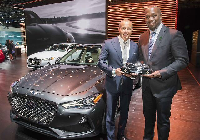 제네시스 G70, '북미 올해의 차' 선정…올해만 벌써 '세 번째'