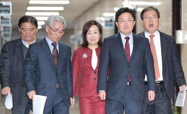 한국당 조강특위 해산...조직위원장 55명 최종 의결