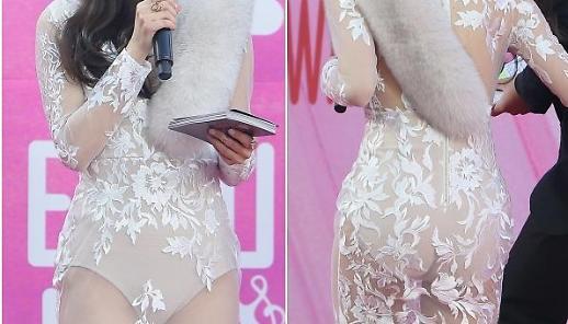 [포토] 역대급 시스루에 '아찔'