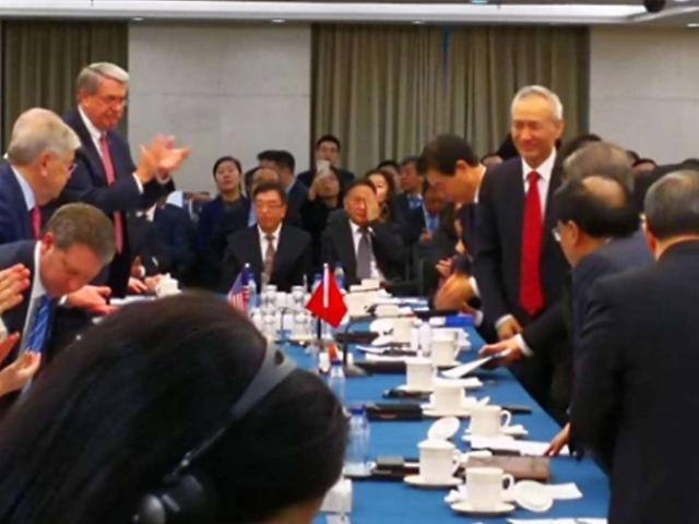 류허 中 부총리, 방미요청 수락… 이달 말 무역협상