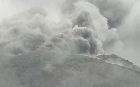[포토] 日 가고시마 화산폭발