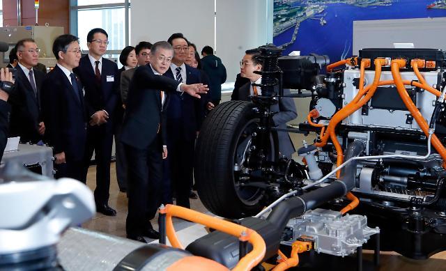 韩政府发布氢能经济发展路线图